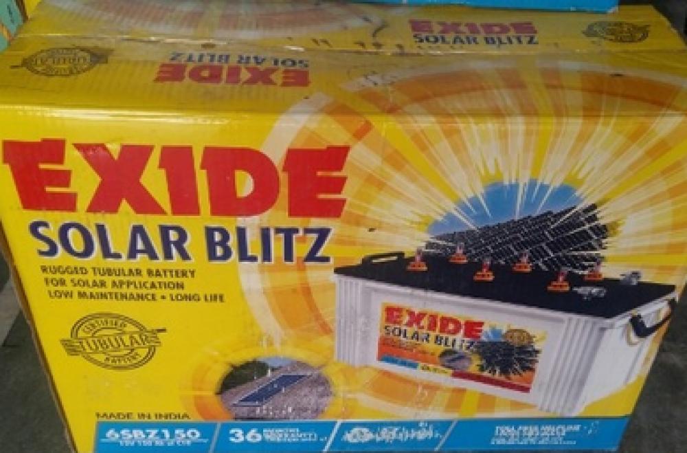 Exide SolarBlitz 6SBZ150 (150AH)