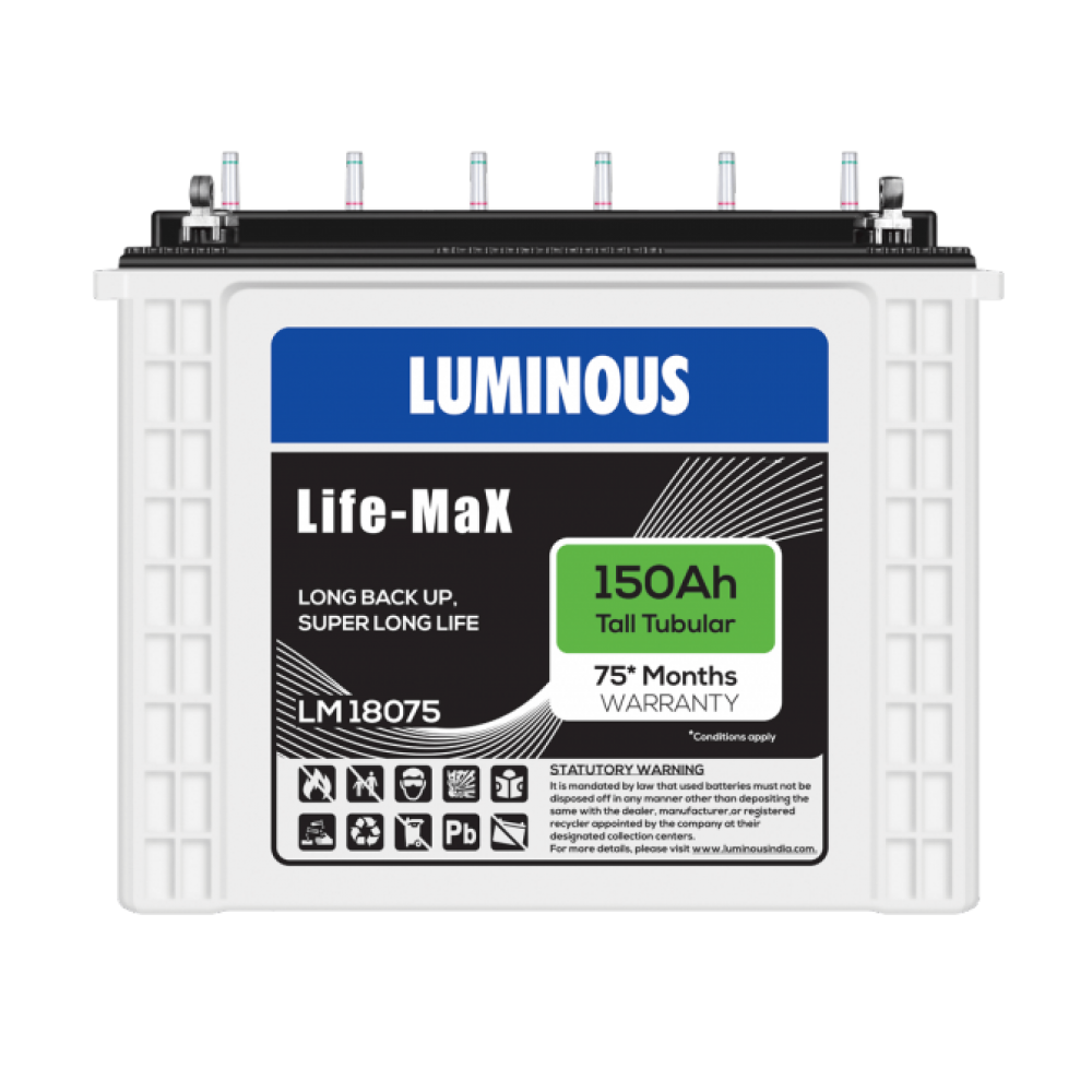 Luminous LIFE MAX LM18075 150AH