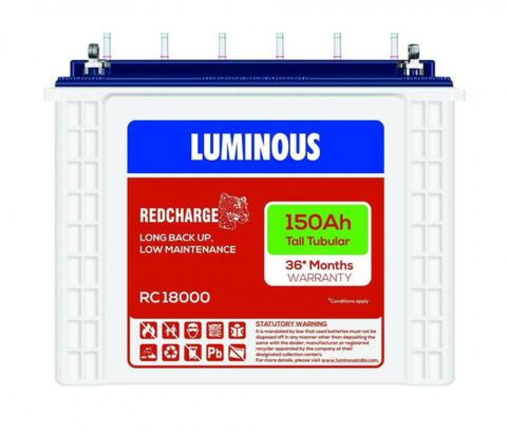 Luminous RED CHARGE RC18000 150AH