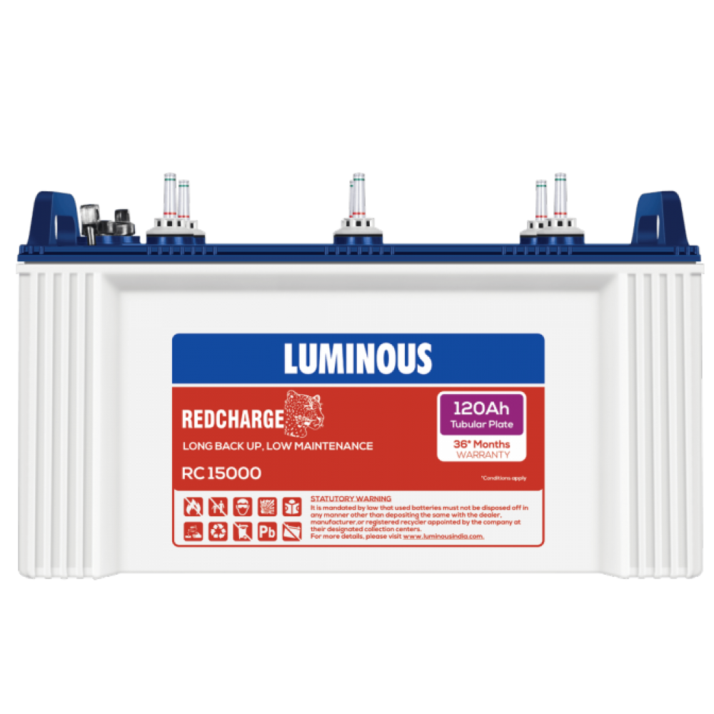 Luminous RED CHARGE RC15000 (120AH)